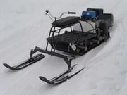 Лыжный модуль для мотобуксировщиков