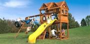 Детский игровой комплекс! Игровая площадка для дачи Rainbow!