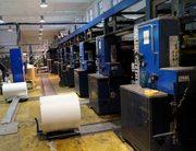 Рулонная офсетная печатная машина SOLNA D300