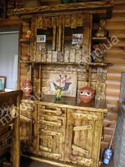 Мебель из дерева  искусственного старения