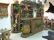 Мебель состаренная из массива сосны