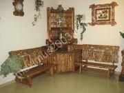 Мебель из сосны для баньки
