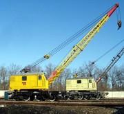 Срочно - Железнодорожный дизель-электрический кран КЖДЭ-16,  КЖДЭ-25.