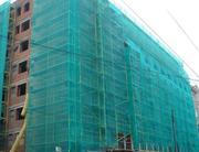 Защитная фасадная сетка для строительных лесов