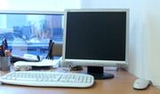 Продается компьютер: системный блок,  монитор,  клавиатура,  мышка.